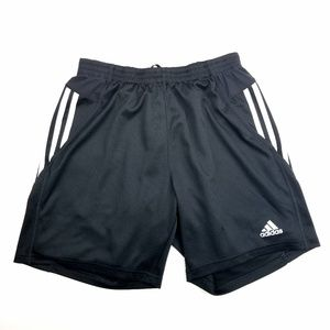 Mens Adidas Black Respond 7 inch Workout Shorts